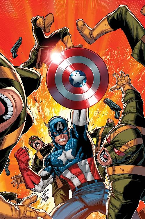 Captain America & The Invaders: Bahamas Triangle written by Roy Thomas Captai31