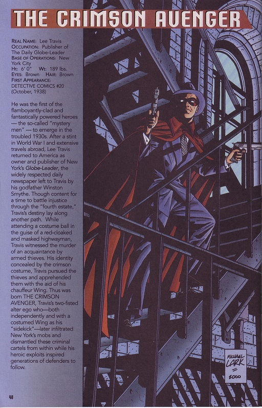 Happy Belated 75th Anniversary Crimson Avenger (Lee Travis) Crimso11