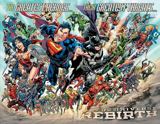 Maybe we'll see the Legion of Super Heroes & the JSA before Doomsday Clock ends?  Dc-reb10