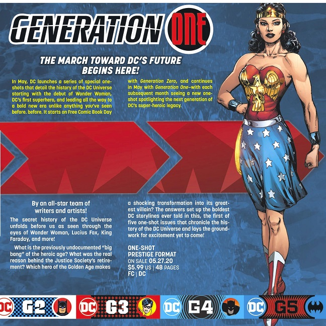 GENERATION ONE: Age of Mysteries Genera12