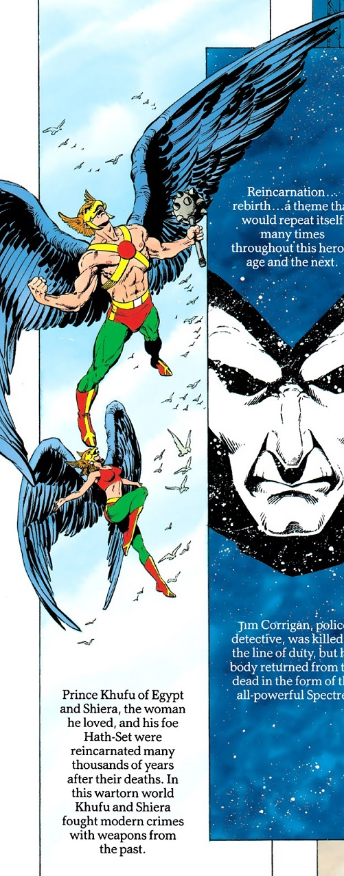 Happy 75th Anniversary, Hawkman! Golden10