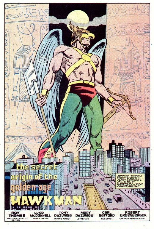 Happy 75th Anniversary, Hawkman! Hawkma11