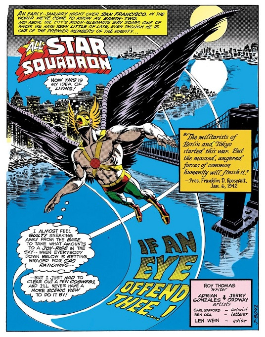 Happy 75th Anniversary, Hawkman! Hawkma16