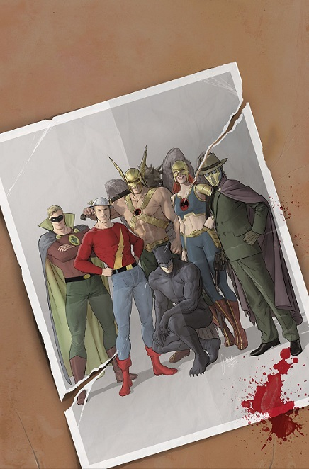 Hawkman and Hawkwoman with the JSA in September 2020 issue Hawkma21