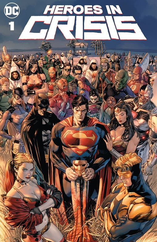 Heroes in Crisis starting in September (2018) Heroes10
