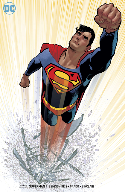 Bendis' run on the SUPERMAN title Hughes10