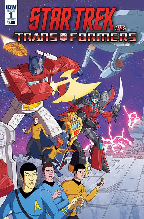 Star Trek vs. Transformers mini-series coming from IDW Inset210