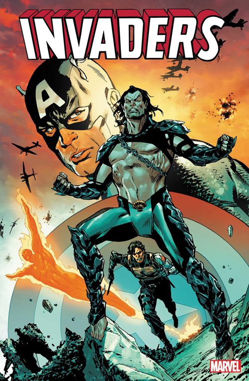 Marvel re-launching THE INVADERS (again!) in 2019 Invade10
