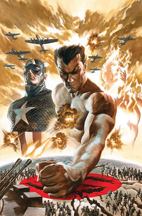 Marvel re-launching THE INVADERS (again!) in 2019 Invade11