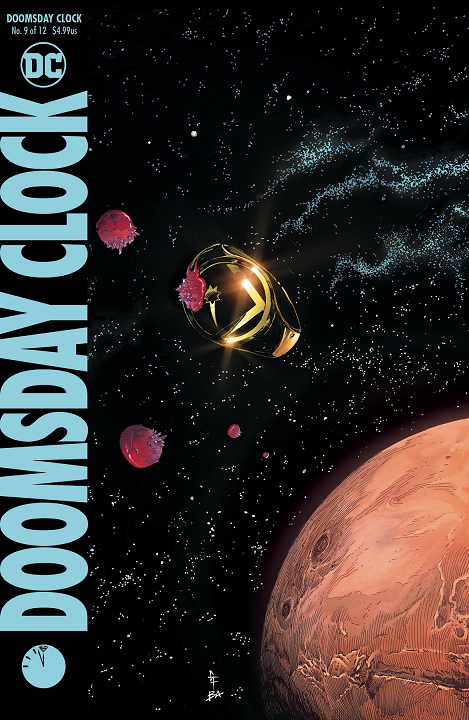 Doomsday Clock (12-issue series) - solict info for last third of the series Issue_10