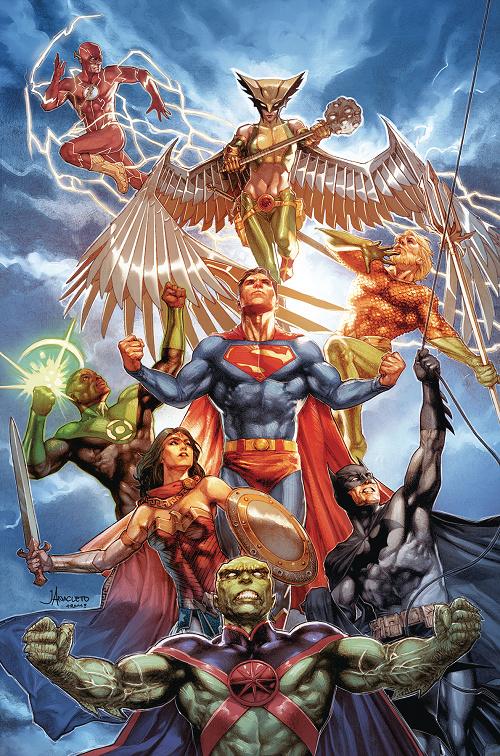 """""""Justice Doom War"""" arc in Justice League Justic22"""