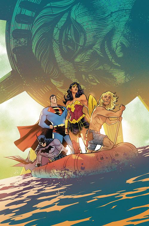 """""""Justice Doom War"""" arc in Justice League Justic44"""