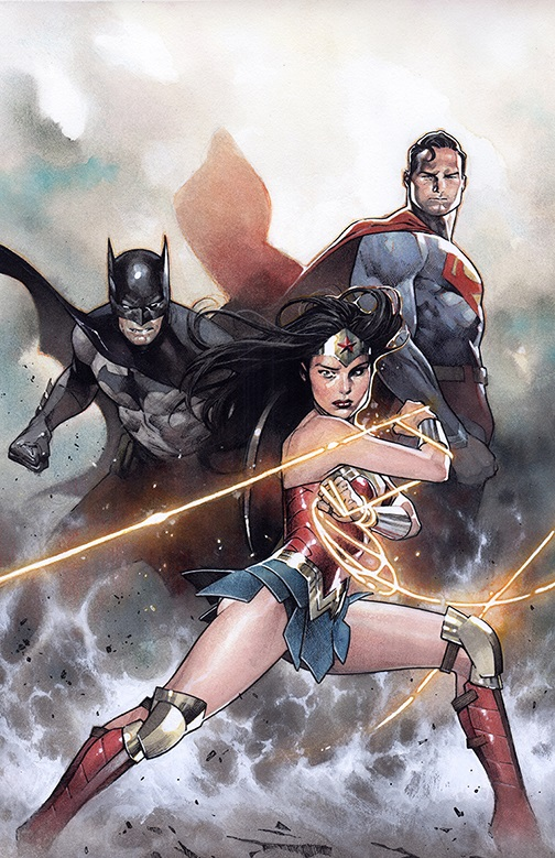 """""""Justice Doom War"""" arc in Justice League Justic45"""