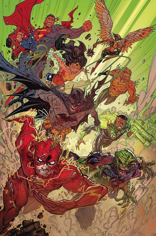 """""""Justice Doom War"""" arc in Justice League Justic47"""