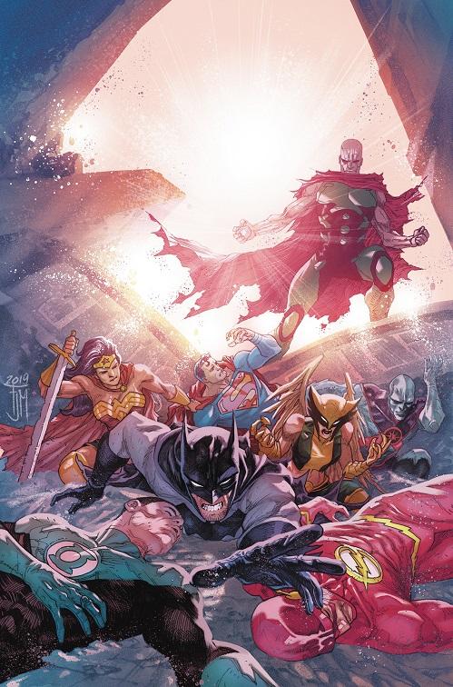 """""""Justice Doom War"""" arc in Justice League Justic52"""