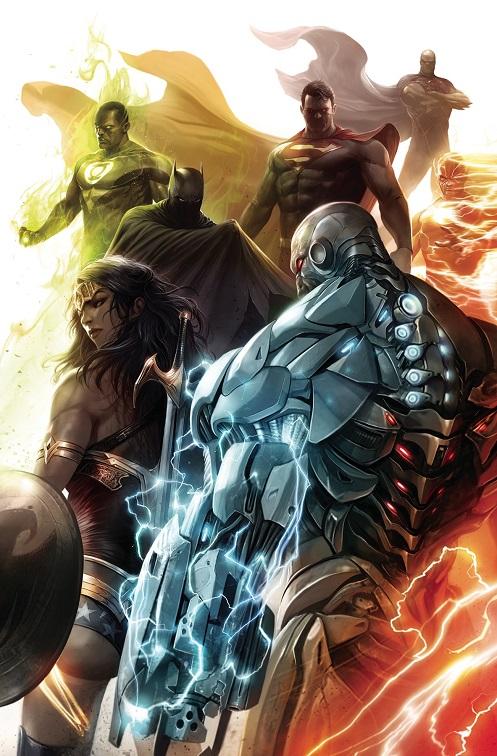 """""""Justice Doom War"""" arc in Justice League Justic53"""