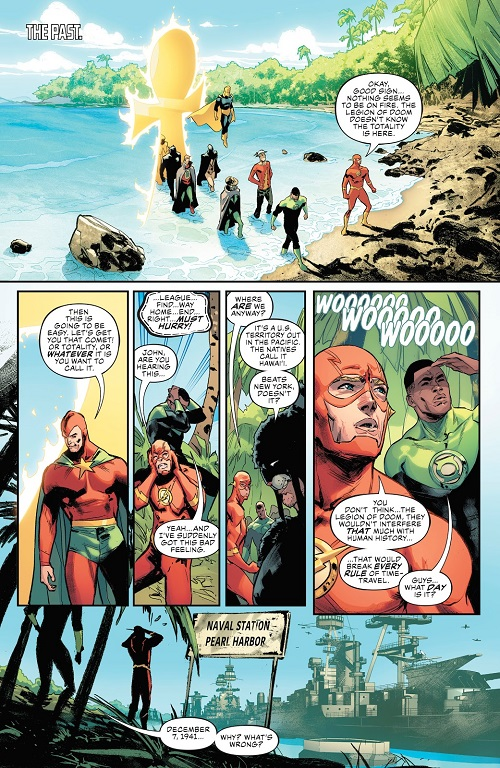 """""""Justice Doom War"""" arc in Justice League Justic57"""