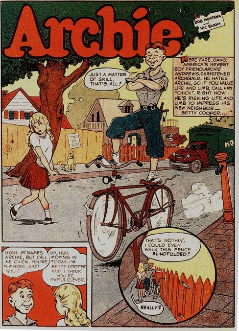 Archie 1941: another Archie mini-series! Pep_co10