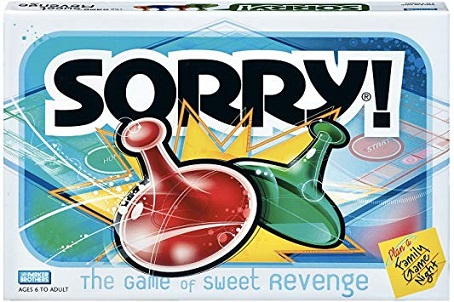 Board Games: Get a Clue(do) Sorry_10