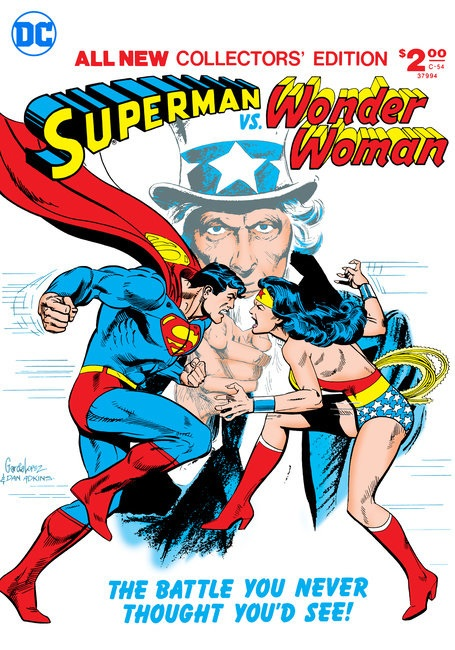 DC TO RELEASE HARDCOVER EDITION OF 1978's 'SUPERMAN VS. WONDER WOMAN' Superm11