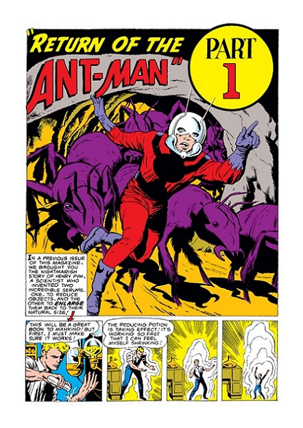 original Ant-Man (and the Wasp): Hank & Janet Tales_13