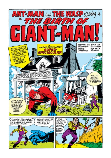 original Ant-Man (and the Wasp): Hank & Janet Tales_14