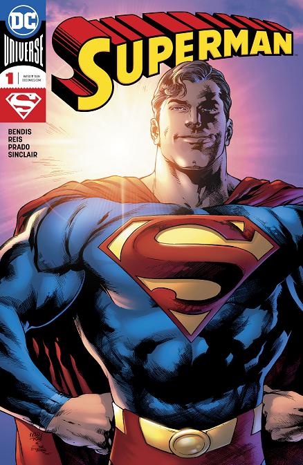 Bendis' run on the SUPERMAN title Untitl12