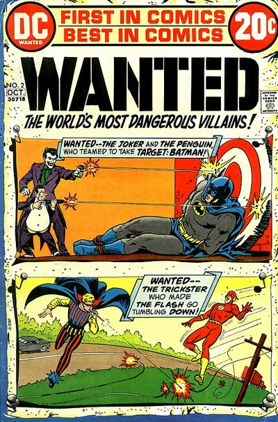 DC's Wanted: The World's Most Dangerous Super-Villains collection Wanted12
