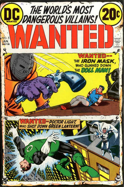 DC's Wanted: The World's Most Dangerous Super-Villains collection Wanted13