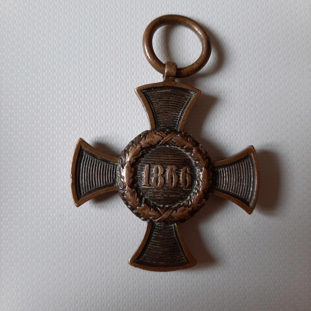 Croix commémorative Bavière 1866 20191211