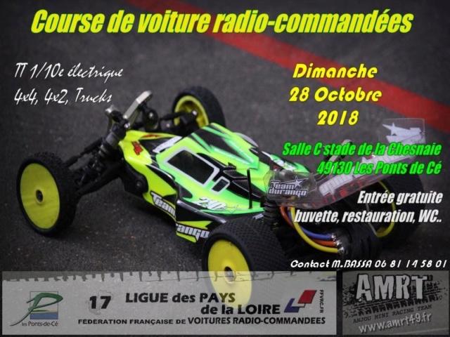 Course indoor  1/10 AMRT les Ponts de Cé 49, 28 Octobre 2018 83251210