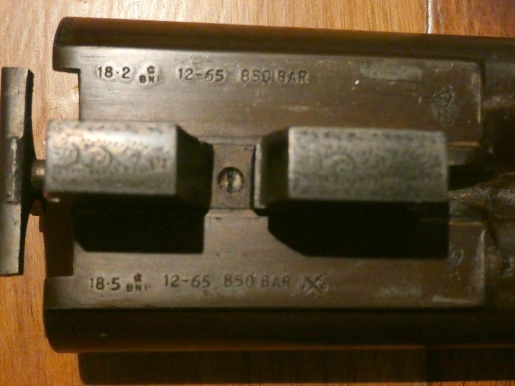 fusil juxtaposé marque OSBORNE Lewis11