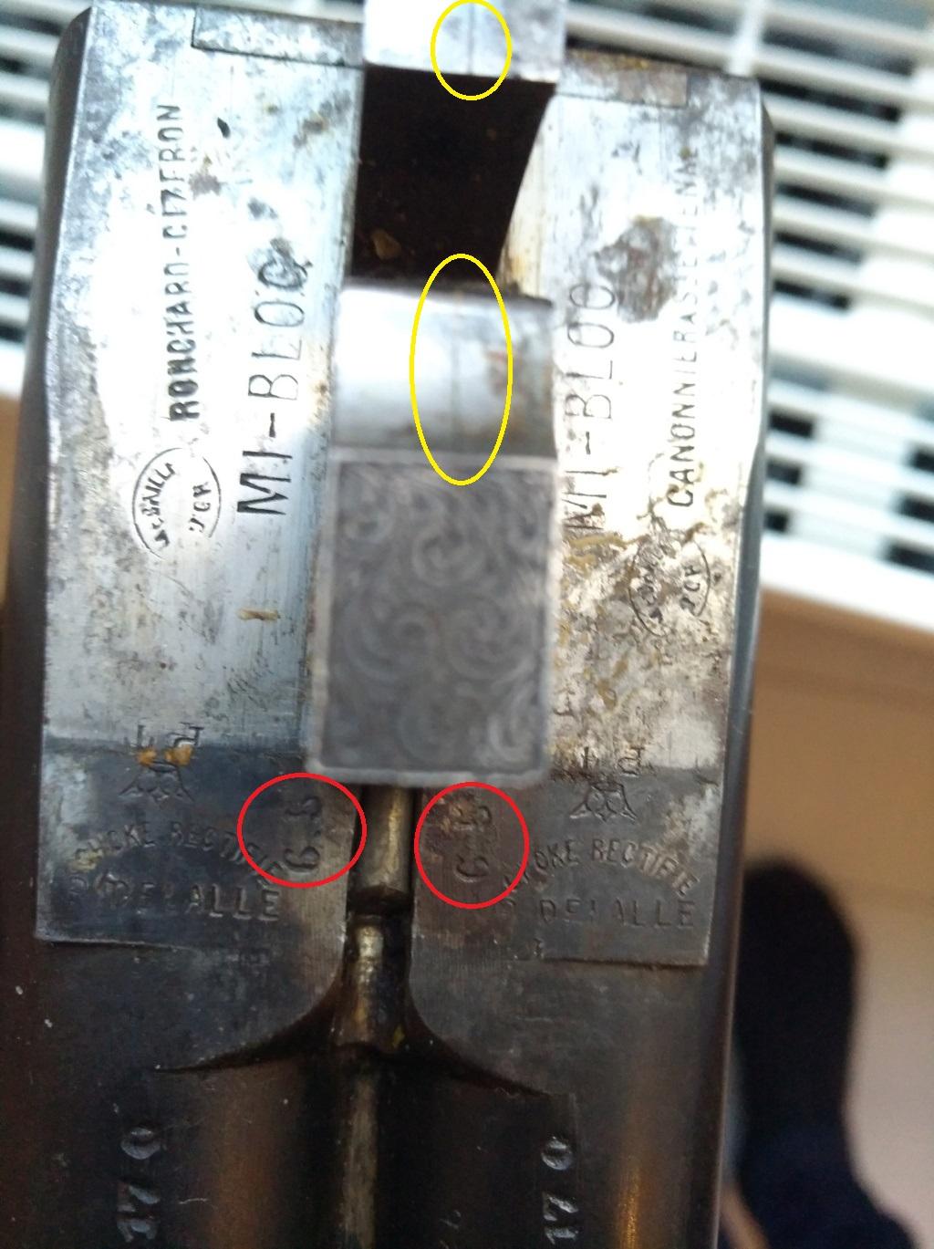 Identification fusil juxtaposé Roncha12