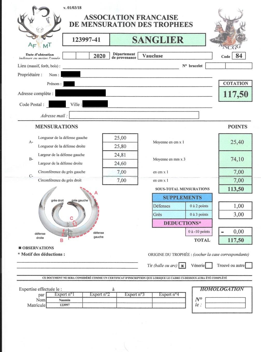 Sanglier de 120 kilos - Page 2 Sangli11