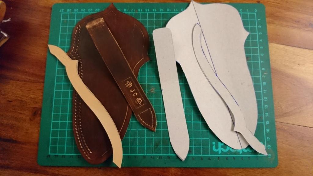 Mes projets-couteaux divers... - Page 16 Sheath14