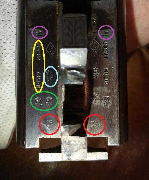 Canon piqué : vieux fusil juxtaposé anglais Stamps12