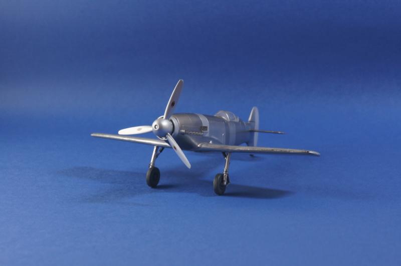 [Special Hobby] Messerschmitt Me 209V1, 1/72 - fini - Page 4 Dsc00816
