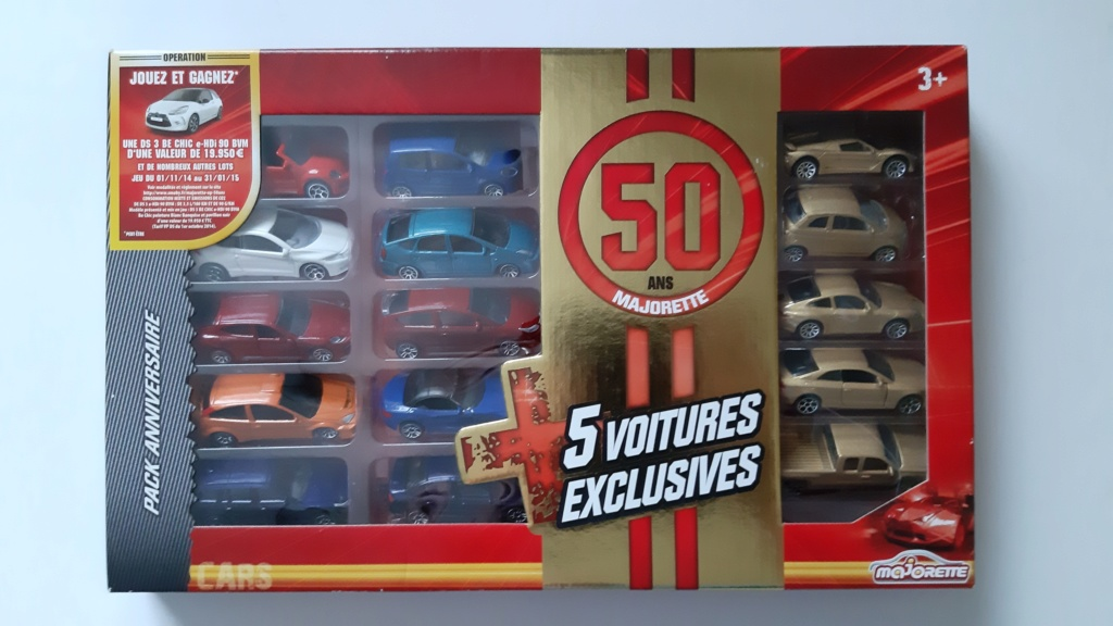 Pack anniversaire des 50 ans de Majorette. - Page 2 Szorie16
