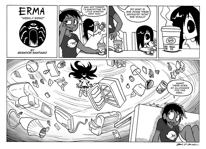 Sifra's comic project 5410