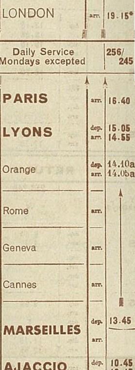 Croix ou lignes parallèles,au tampon, sur étiquettes PAR AVION Af3810