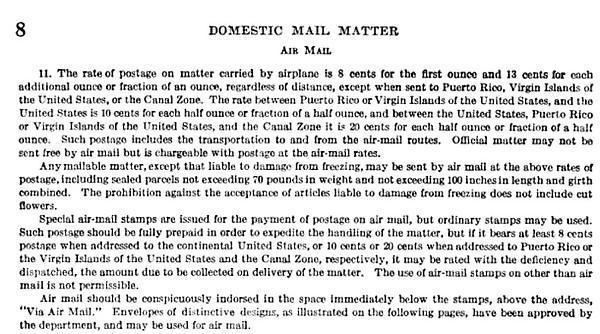 Des surtaxes aériennes INTERIEURES existaient-elles encore aux USA en 1930? Airmai10