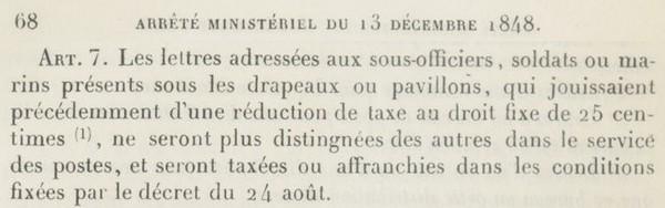 Lettre taxée - 1855 Am4810