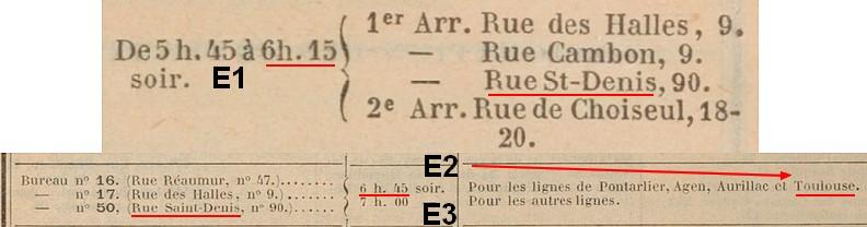 article paru dans les documents philateliques Lestde10