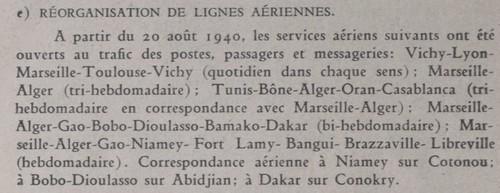 Saint Raphaël à Pointe Noire (Moyen Congo) le 22/04/1941 : problème de tarification  Sans_t15
