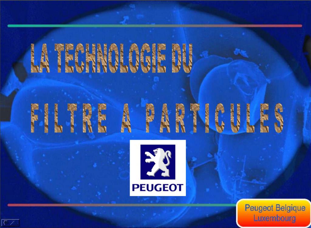 La technologie du filtre a particule Peugeot Captur54