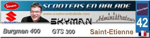Tourisme : La Lozère accueille les motards et scootards  Skyman16