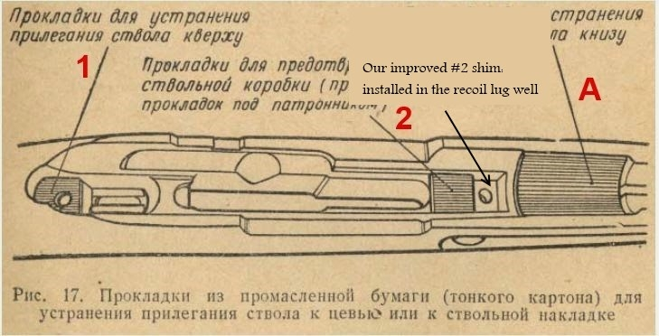 Mosin m38 + bonus: calage boîter mosin nagant Mosins11