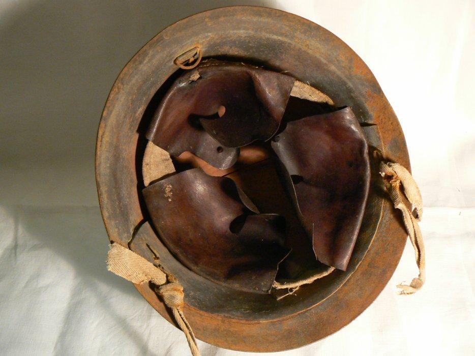 Prototype de casque japonais ww2 pour servant de mitrailleuse 3c10
