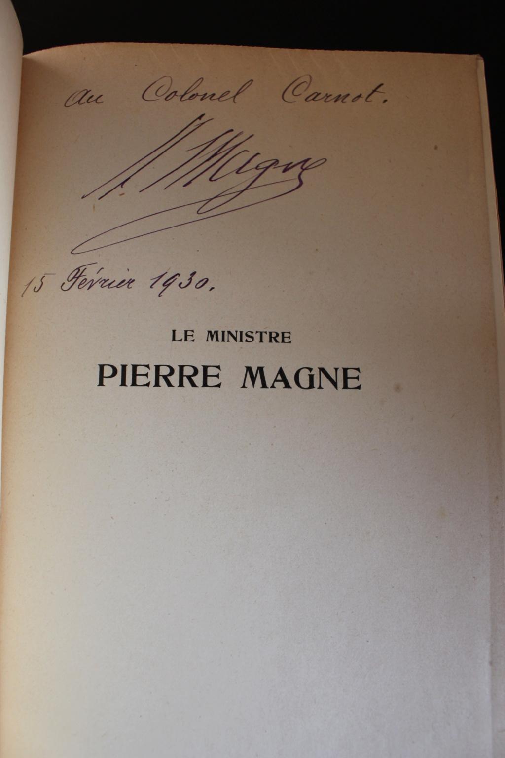 Dédicace de Napoléon MAGNE, 1930 Img_2717