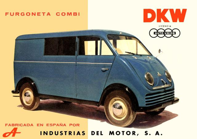 La furgoneta DKW de Bultaco 1955_d10